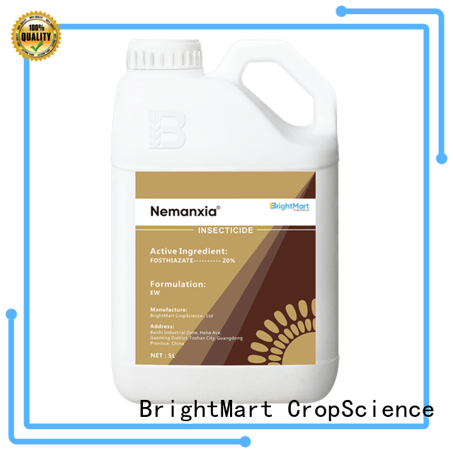 BrightMart hot selling ornamental selective herbicide wholesale for crops