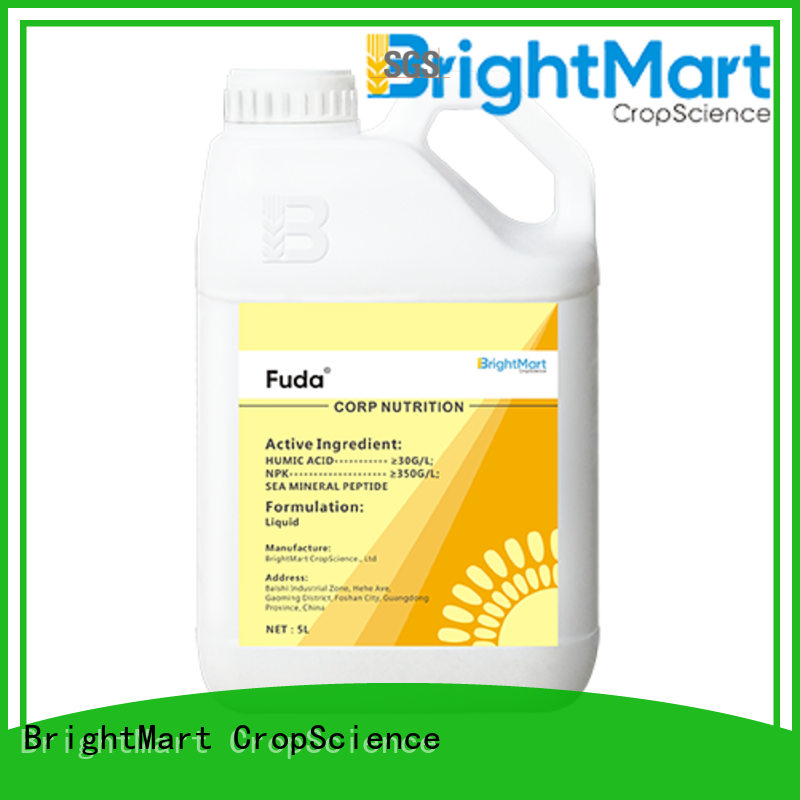 BrightMart wheat non-selective herbicide with good price for crops