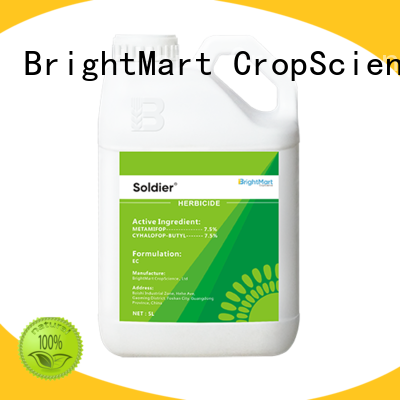 BrightMart long lasting weed killer factory for crops
